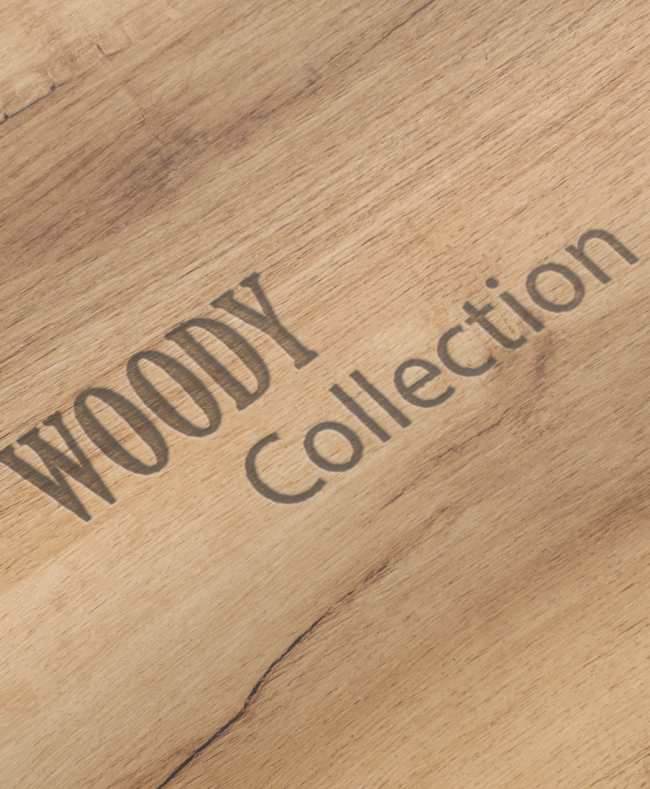 Woody collection PLV bois